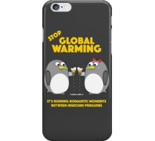 Global warming is ruining romantic moments iPhone Case/Skin