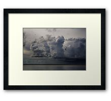 Before Storm in Lagoon Framed Print