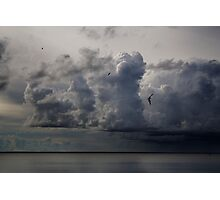 Before Storm in Lagoon Photographic Print