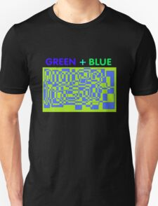 Green + Blue T-Shirt