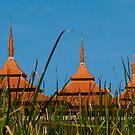Thai Pagodas by mrthink