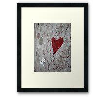 Love / Death Framed Print