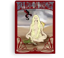 Mother of the Dragon Canvas Print