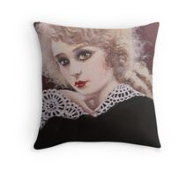 Mary Pickford Throw Pillow
