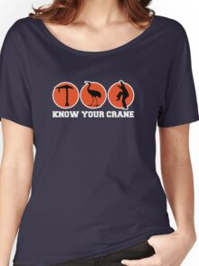 Know Your Crane Women's Relaxed Fit T-Shirt