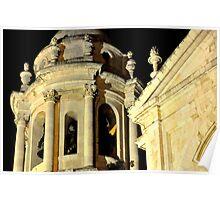 CADIZ - La Catedral - El campanario  Poster