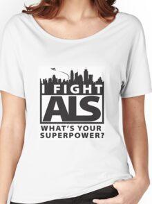 ALS Awareness  Women's Relaxed Fit T-Shirt
