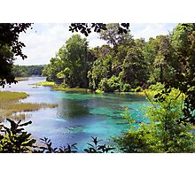 Rainbow Springs Photographic Print
