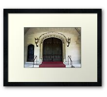 Hempstead House Entrance Framed Print