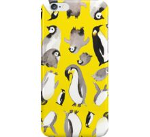 Yellow Penguin Potpourri iPhone Case/Skin