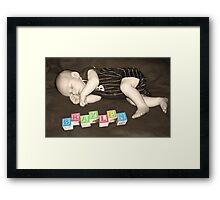restful.... Framed Print
