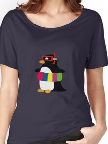 The happy Pinguin Women's Relaxed Fit T-Shirt
