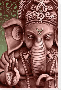 Ganesha by sharon allitt