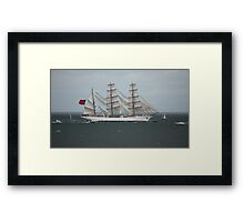 Sagres - Tall Ships Belfast Framed Print
