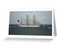 Sagres - Tall Ships Belfast Greeting Card