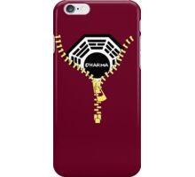 Dharma Zip iPhone Case/Skin