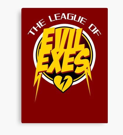 The League of Evil Exes Canvas Print