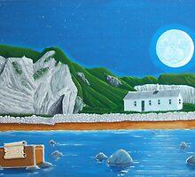 Ballintoy Antrim coast Ireland by Michael McEvoy
