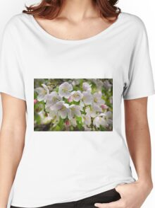 Crabapple Blossoms Women's Relaxed Fit T-Shirt