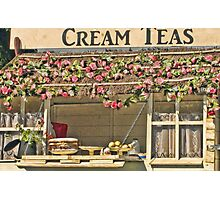 Cream Tea Anyone? Photographic Print