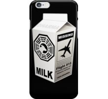 Dharma Initiative Missing Milk iPhone Case/Skin