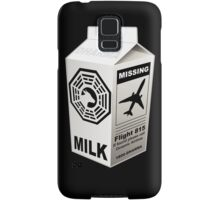 Dharma Initiative Missing Milk Samsung Galaxy Case/Skin