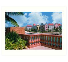 Nassua, the Bahamas, Atlantis  Art Print