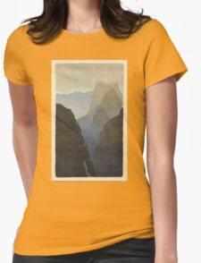 BRIAN ENO - BEFORE AND AFTER SCIENCE - PRINT 1 Womens Fitted T-Shirt