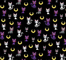 Sailor Moon Cats - Black by uenki