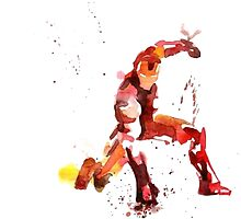 Iron Man: Paint by Geralts