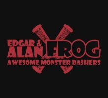 Edgar and Alan Frog the Awesome Monster Bashers by McPod