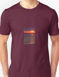 A Lonely Sunset Unisex T-Shirt