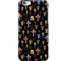 Sailor Moon Inner Senshi - Black iPhone Case/Skin