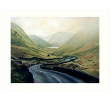 Lakes District, England in Oils Art Print