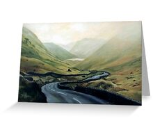 Lakes District, England in Oils Greeting Card