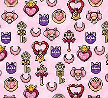 Sailor Chibi Moon - Pink by uenki