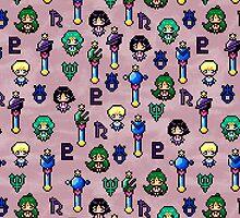 Sailor Moon Outer Senshi - Purple by uenki