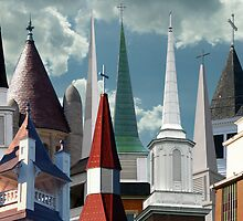 City of Churches II by BCallahan