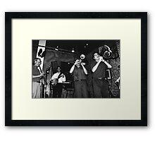 Dixeland Jazz Framed Print
