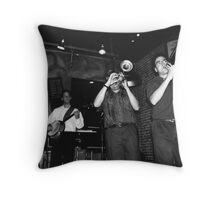 Dixeland Jazz Throw Pillow