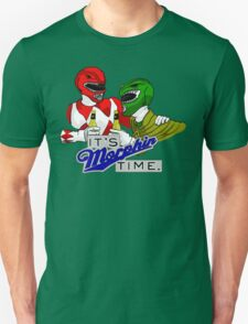 """Mighty Morphin' Power Rangers (Jason & Tommy) """"It's Morphin Time"""" Unisex T-Shirt"""