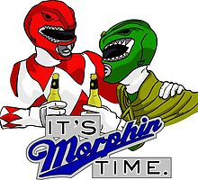 "Mighty Morphin' Power Rangers (Jason & Tommy) ""It's Morphin Time"" by DrawnUnderRated"