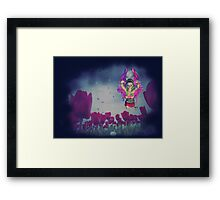 Fairy and Tulips 3 Framed Print
