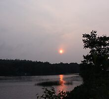 Sun setting by zahnartz