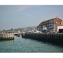 Around West Bay, Bridport, Dorset Photographic Print