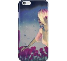 Fairy and Tulips 4 iPhone Case/Skin