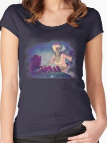 Fairy and Tulips 4 Women's Fitted Scoop T-Shirt