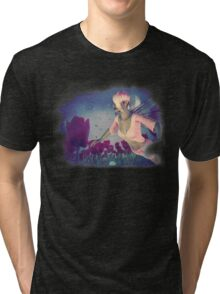 Fairy and Tulips 4 Tri-blend T-Shirt