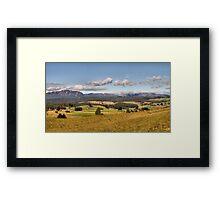 Mt Roland in Tasmania Framed Print