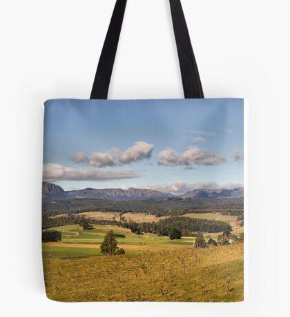 Mt Roland in Tasmania Tote Bag